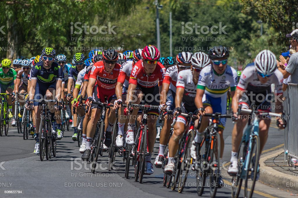 Tour Down Under 6 stock photo