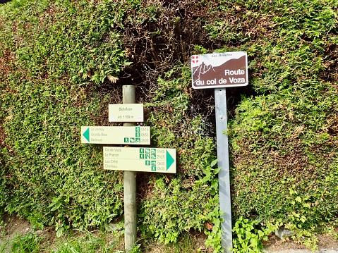 istock Tour du Mont-Blanc/Col de Voza,France 1003915626