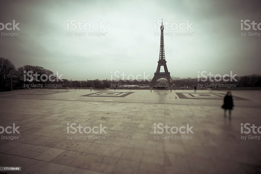 Tour Eiffel, Paris Landmark, France royalty-free stock photo