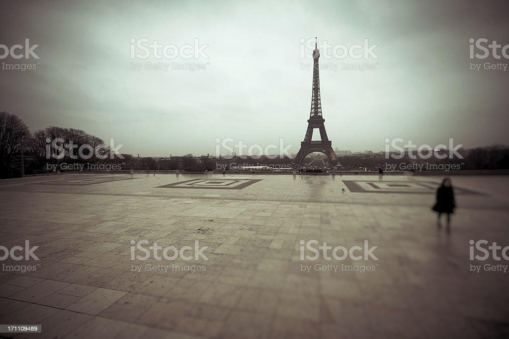 Tour Eiffel, Paris Landmark, France stock photo