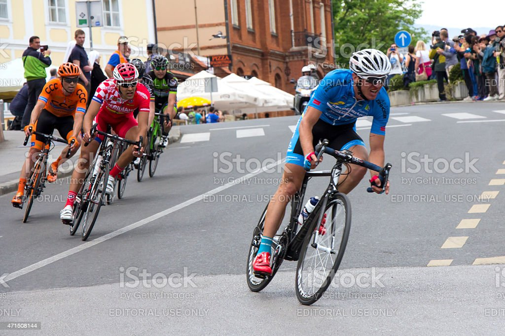 Tour of Croatia stock photo
