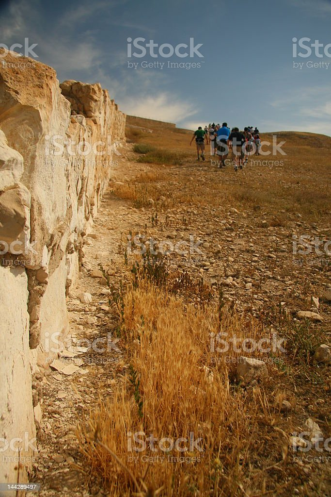 tour of Israel royalty-free stock photo