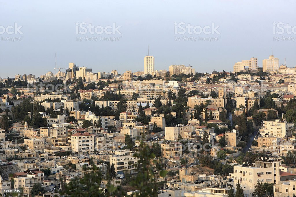 Tour to Jerusalem royalty-free stock photo