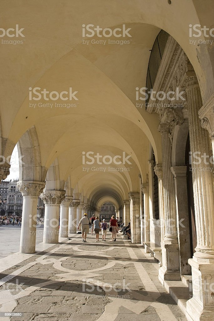 Touring Venice royalty-free stock photo