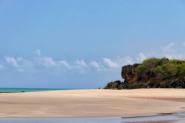 Praia de tourinhos, na cidade de São Miguel do Gostoso, Rio Grande do Norte, Brasil - foto de acervo