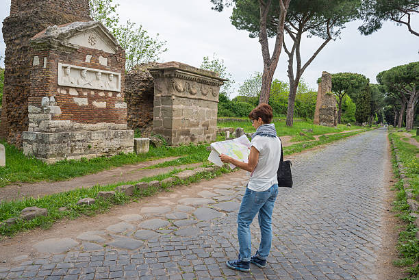 a history of the appian way known as the queen of roads in ancient rome The appian way of 312 bc, was one of the first roads of ancient rome it was also the most significant in history, which our enthusiastic guide will share with you as you walk the footsteps of the ancient romans that came before.