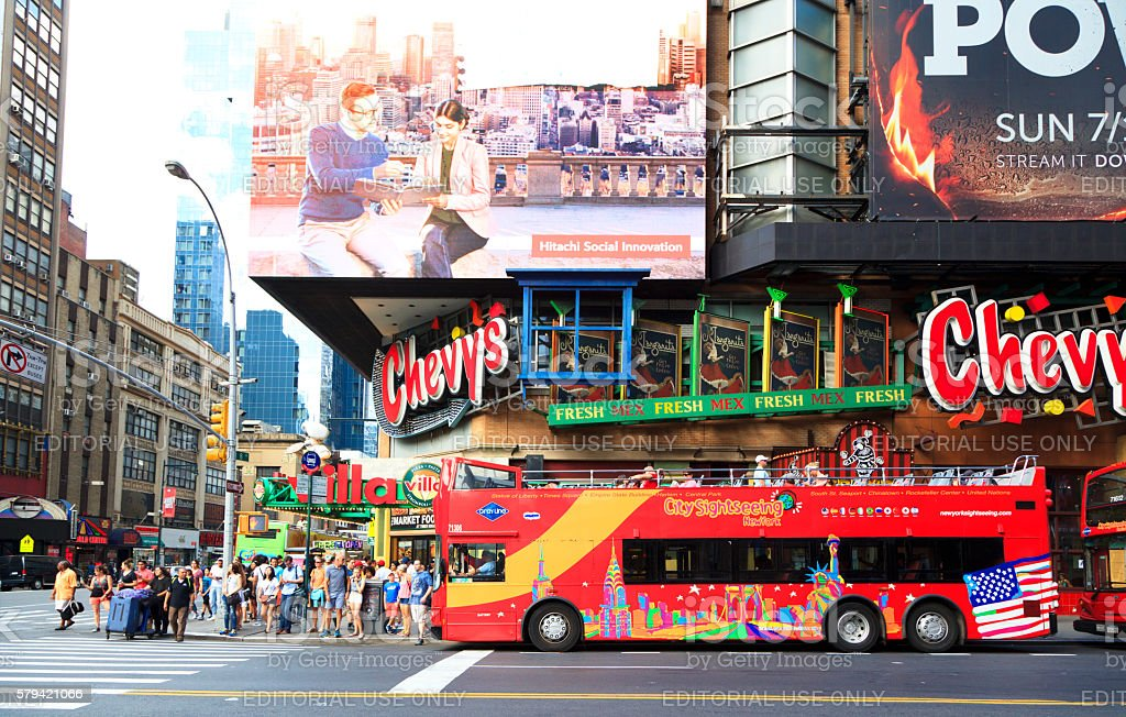 Tourism Image in New York stock photo