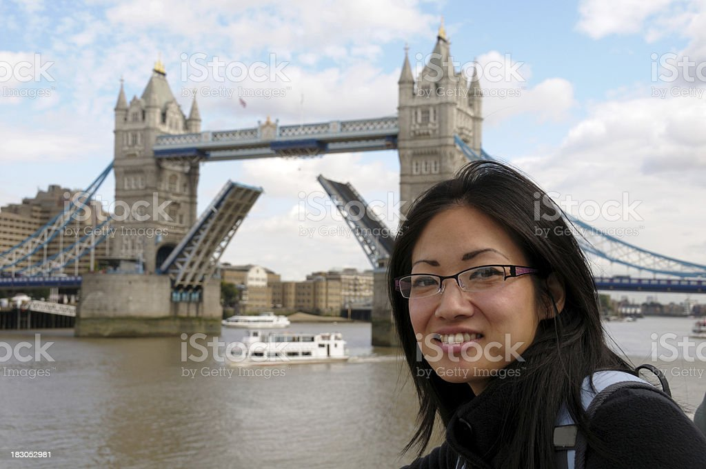 Tourism in London royalty-free stock photo