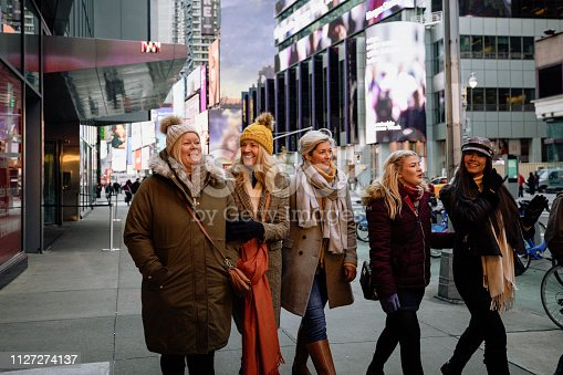 istock Tourism in New York 1127274137