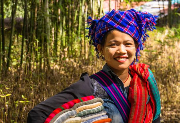 Tourism on Lake Inle, Myanmar, Burma stock photo