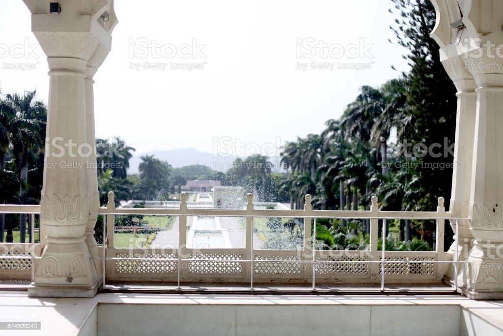 tourism Park land Chandigarh India stock photo