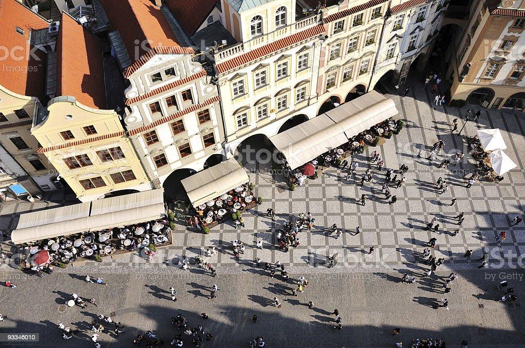 Tourism, Prague royalty-free stock photo