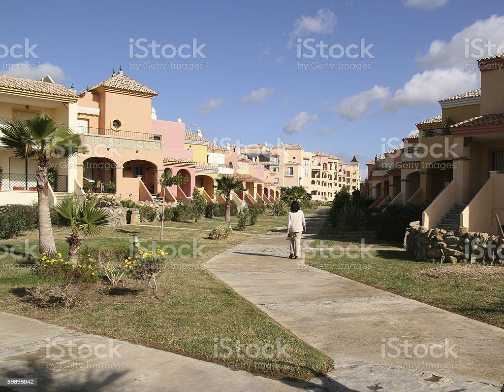 Tourist apartments – 2 Lizenzfreies stock-foto