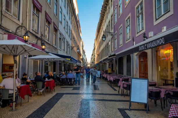 tourist attraction - esplanada portugal imagens e fotografias de stock