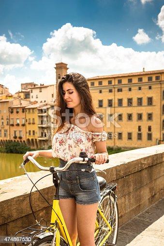969439086 istock photo tourist biking in Florence 474867530