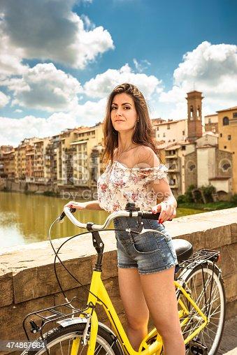 969439086 istock photo tourist biking in Florence 474867664