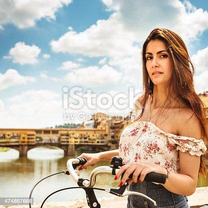 969439086 istock photo tourist biking in Florence 474867666