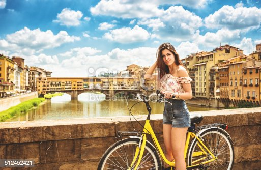 969439086istockphoto tourist biking in Florence 512452421