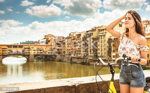 969439086 istock photo tourist biking in Florence 531241561