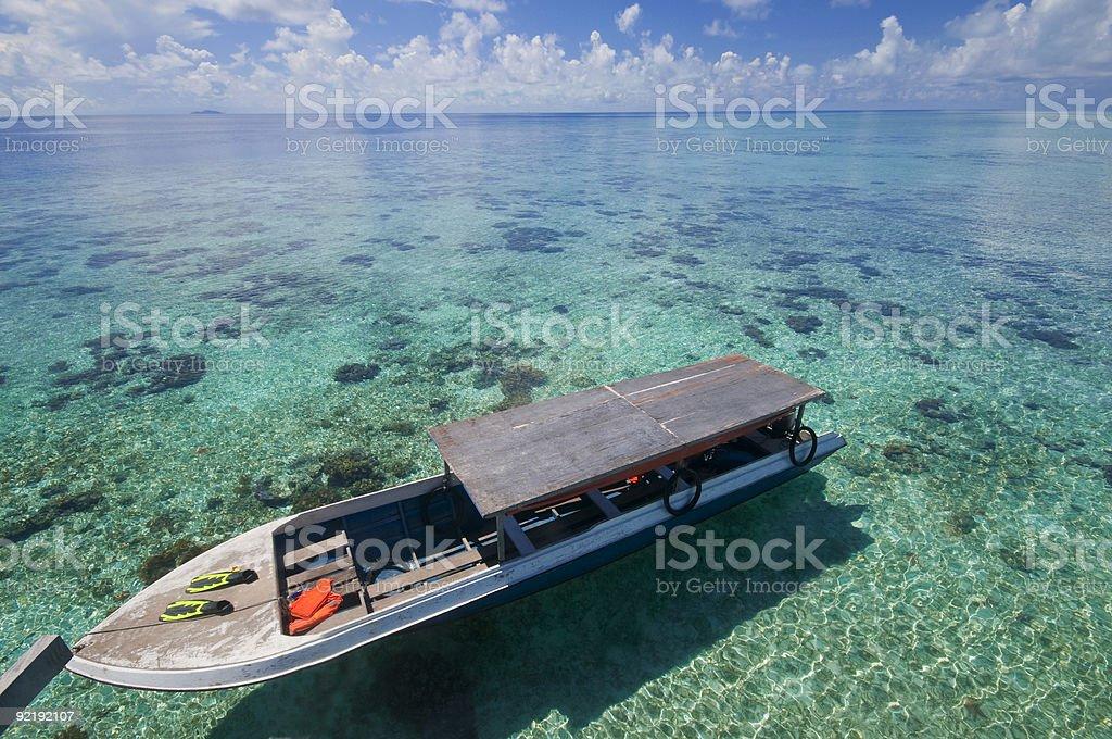 Tourist boat royalty-free stock photo