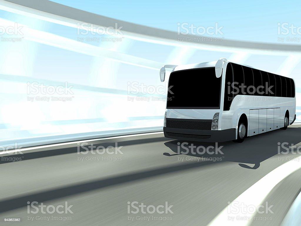 Tourist Bus royalty-free stock photo
