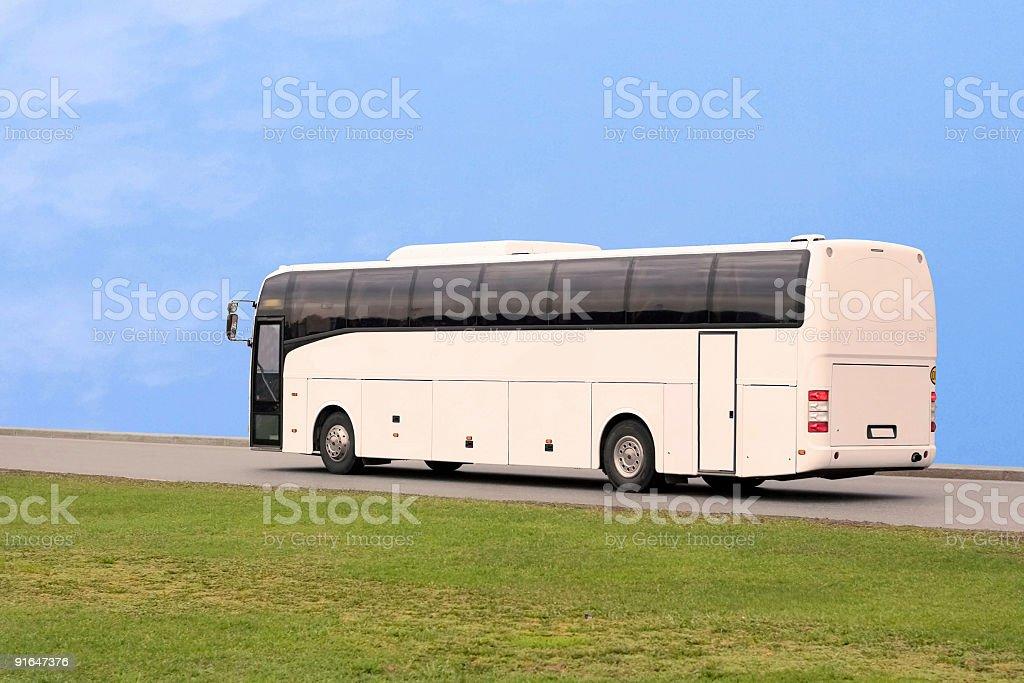 tourist bus travel stock photo