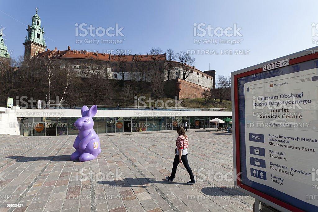Tourist center royalty-free stock photo