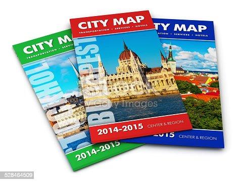 835195838istockphoto Tourist city maps 528464509