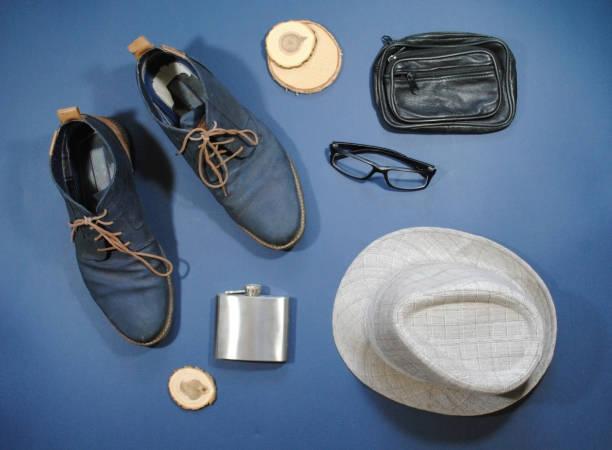 tourist-kleidung und accessoires - modedetails stock-fotos und bilder