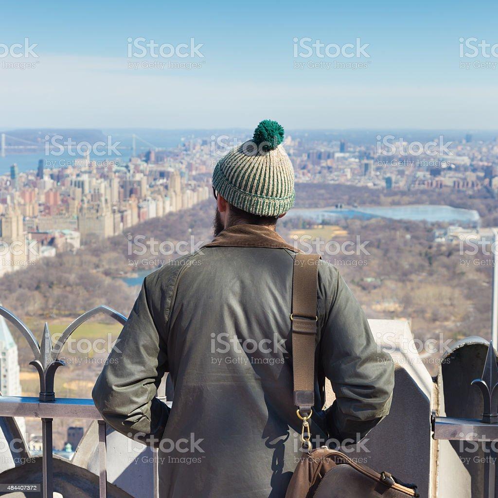 Sehenswürdigkeiten in New York City genießen Sie den Panoramablick. – Foto