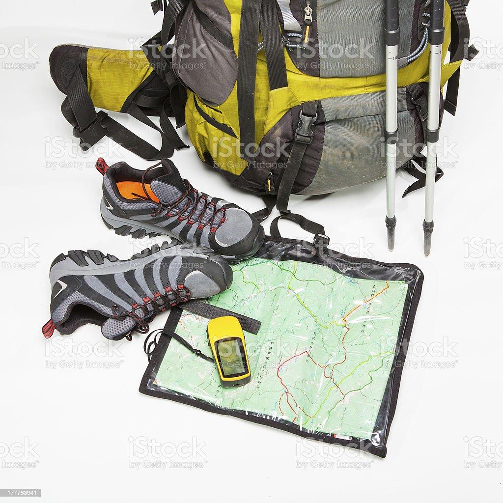 Tourist equipment royalty-free stock photo