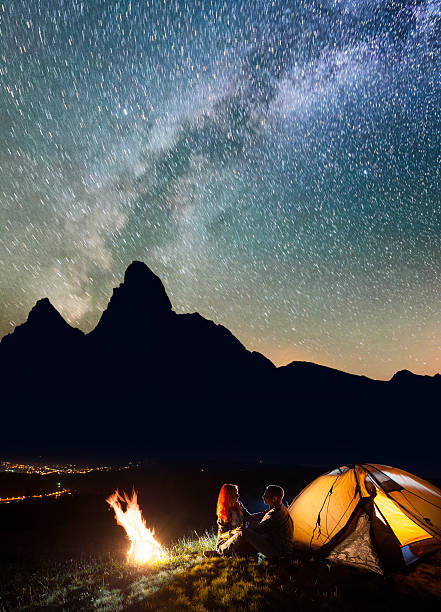 Best Camping Under Night Sky Stock Photos, Pictures ...