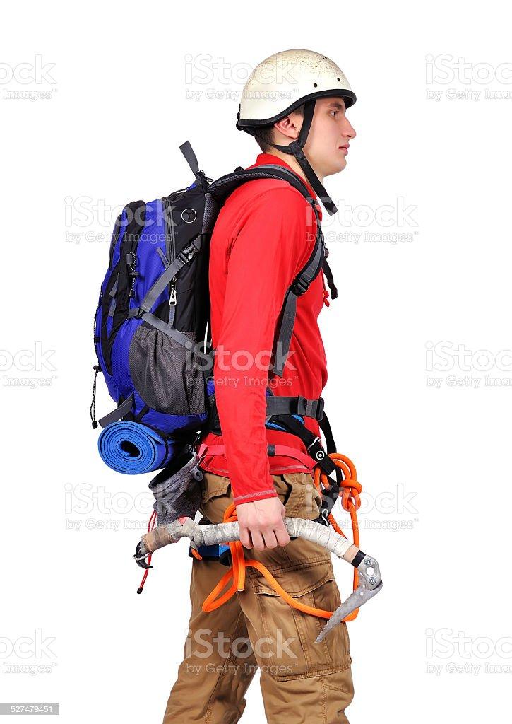 tourist hiker stock photo