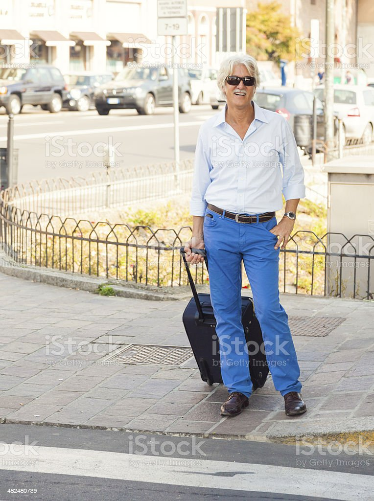 Tourist in Italy stock photo