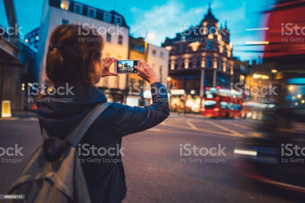 Touristen in London Fotos – Foto