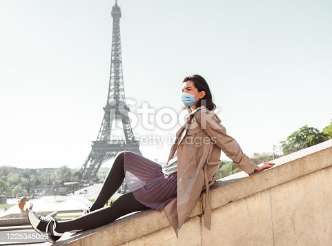 istock tourist in paris during the covid19 1225345059