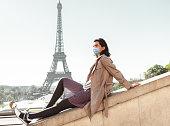 istock tourist in paris during the covid19 1225345059