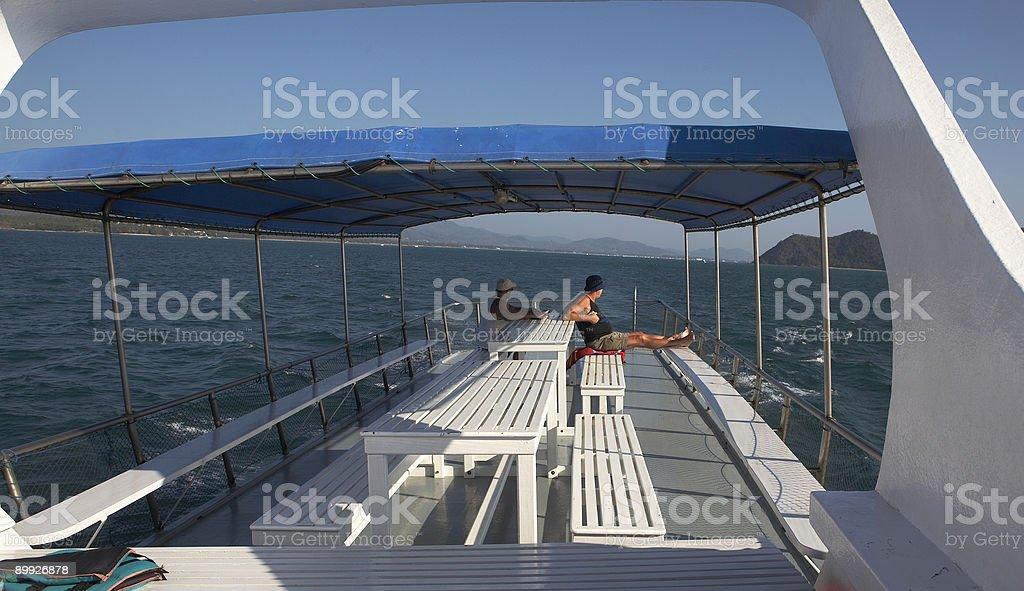 Tourist in Thailand stock photo