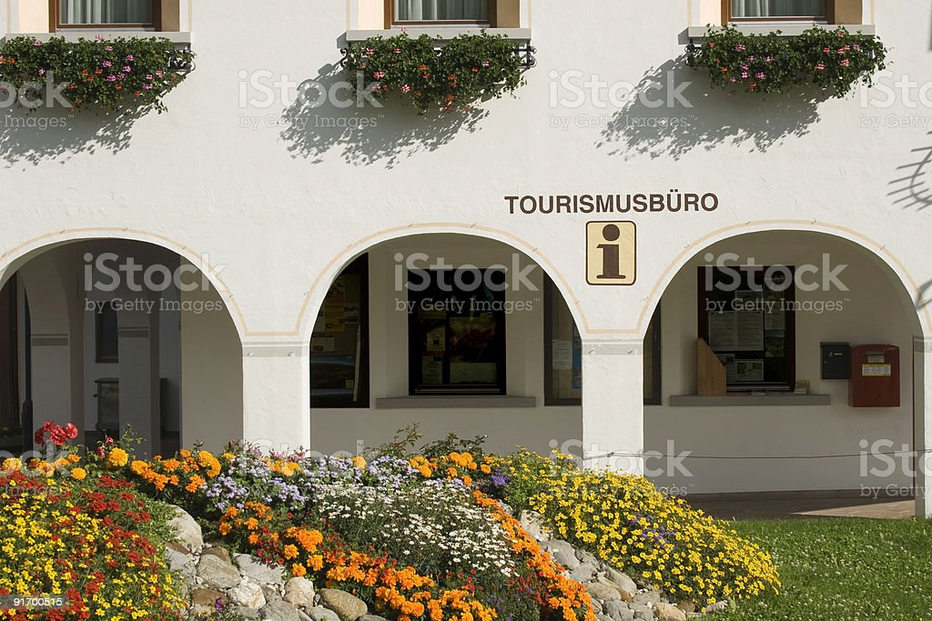 Tourist Information Centre - Trentino-Alto Adige stock photo