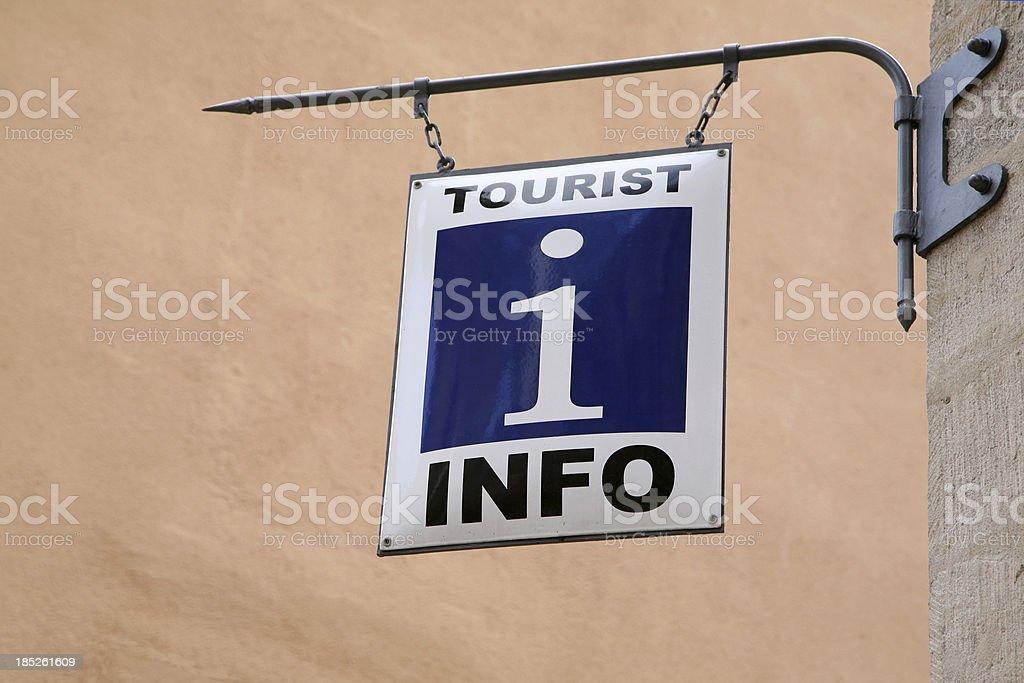 Tourist information royalty-free stock photo