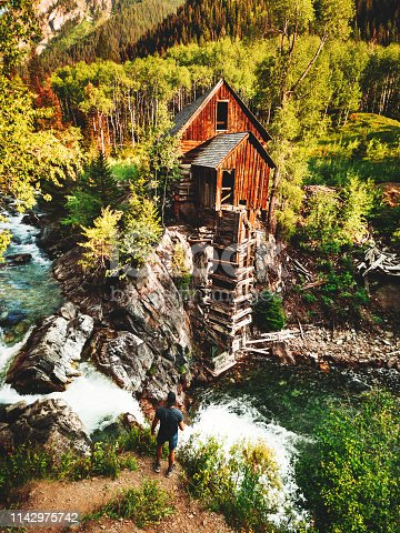 abandoned cabin in colorado