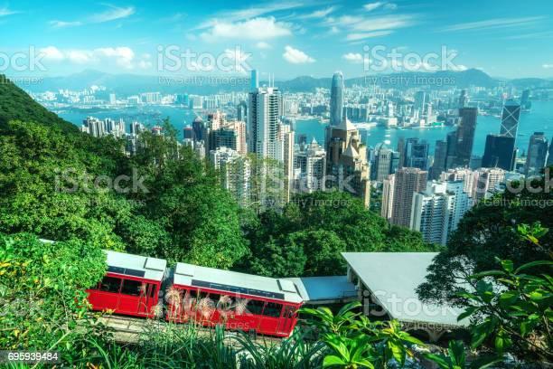 Tourist peak tram in hong kong picture id695939484?b=1&k=6&m=695939484&s=612x612&h=s1rtcckxyzgfjf0wikutbmz6njfjhc9z8d2wwic6vry=