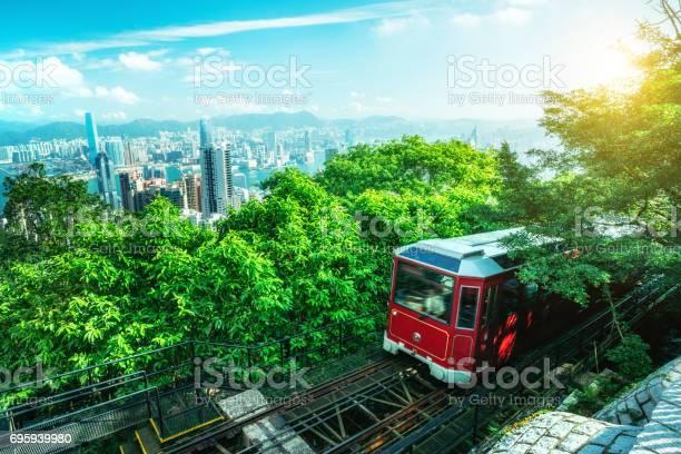 Tourist peak tram in hong kong picture id695939980?b=1&k=6&m=695939980&s=612x612&h=xa7 lrwpq8gmd 0fbts4agcknpy6n6by fwqrd4gojw=