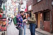 スマートフォンに行くための観光検索方法