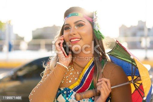 Using Phone, Day, Brazil, Recife, Summer