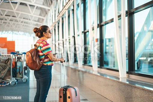 Tourist, Waiting, Embark, Tourism, Flight