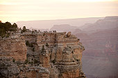 Sunrise from the South Rim of Grand Canyon National Park (Arizona)