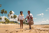 Afro, Females, Beach Holiday, Pernambuco State, Summer