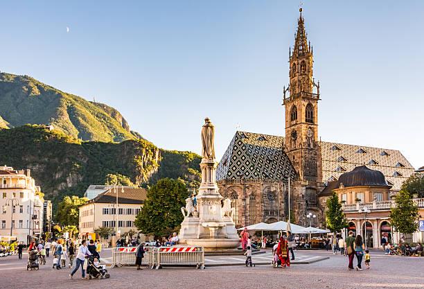 Touristen in Bozen – Foto