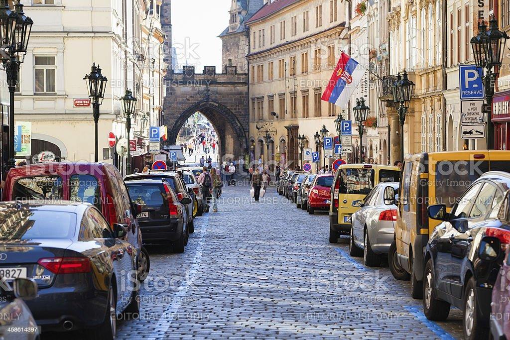 Touristen in Prag – Foto